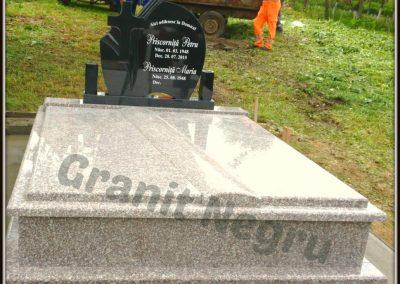 047 cadru dublu grinda oblica granit maro
