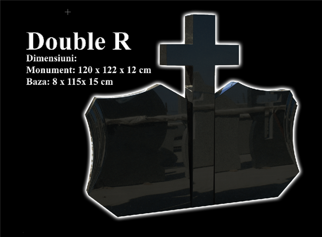 Monumente-granit-negru-double r