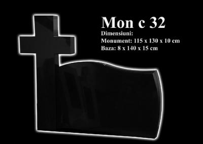 Monumente-granit-negru-mon-c-32