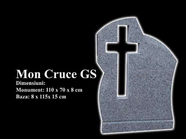 Monumente-granit-negru-mon cruce gs