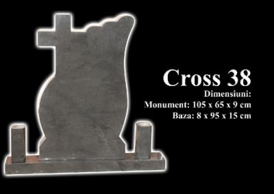 Monumente-granit-negru-cross-38