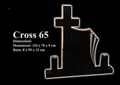 Monumente-granit-negru-cross-65