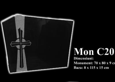 Monumente-granit-negru-mon-c20