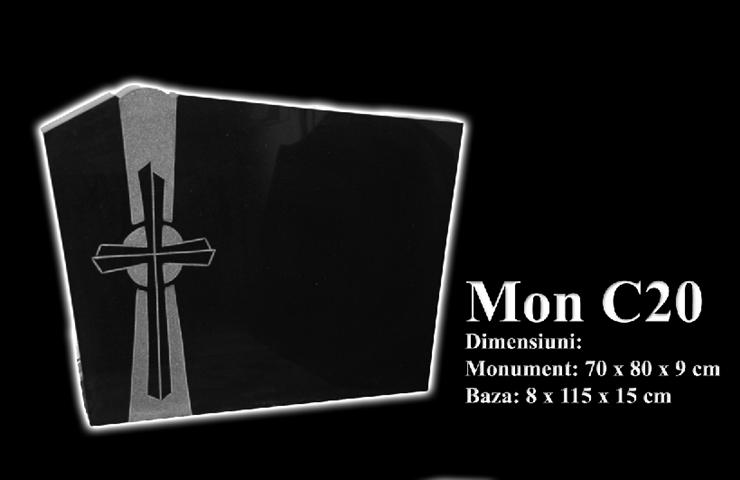 Monumente-granit-negru-mon c20