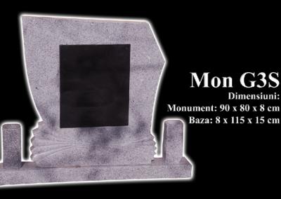 Monumente-granit-negru-mon-g3s